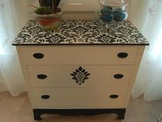Something like this for my small dresser