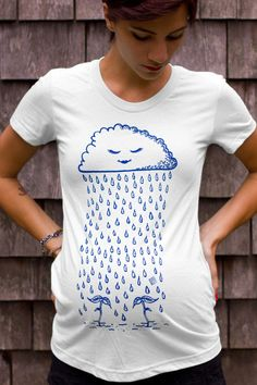 Twin Sprouts Maternity Tshirt - Original Rain Cloud Design - Mint Green (Made in USA) Cute Maternity Outfits, Maternity Tees, Twin Baby Clothes, Pregnancy Wardrobe, Maternity Wardrobe, Bleu Royal, Loose Shorts, How To Have Twins, Twin Babies
