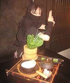 Tokyo theme restaurant: Ninja Akasaka I so want to go there!
