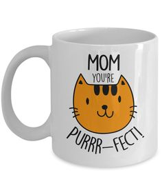 This #coffeemug makes a great #gift for #catlovers on her birthday, Christmas or any occasion. This 11 oz. mug is made from the highest grade ceramic, and the designs are printed and sublimated in the United States. It is 100% dishwasher and microwave safe; the print will never fade. Free shipping everyday with no minimum order required. #giftideas #catmom #catladygift #CatLoverMug #catmomgift #catloversmug #birthdaygiftideas #holidaygiftideas #birthdaypresent