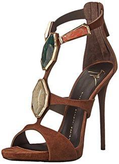 Giuseppe Zanotti Women's Stone Ornaments Dress Sandal, Cam Castano, 5 M US Giuseppe Zanotti http://smile.amazon.com/dp/B00NCVA3GK/ref=cm_sw_r_pi_dp_j9dtvb1XFR5ZD