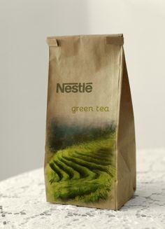 Nestle Green Tea on Behance