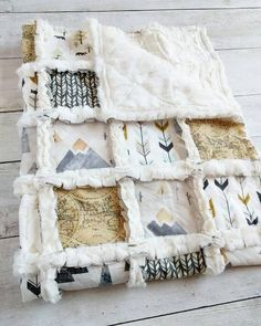 Adventure Awaits Minky Rag Quilt - Mountain Crib Quilt - Arrow Blanket Hey, I found this really awes Baby Boy Rooms, Baby Boy Nurseries, Baby Boys, Quilt Baby, Boy Quilts, Woodland Nursery Boy, Woodland Baby Bedding, Adventure Nursery, Nursery Neutral