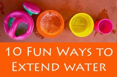 Post image for 10 Fun Ways to Extend Water Play
