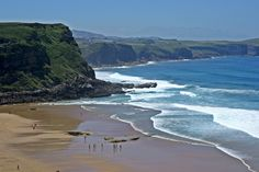 Playa de los locos, Suances  #Cantabria #Spain #Travel