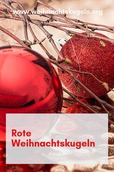 die 8 besten bilder von rote weihnachtskugeln. Black Bedroom Furniture Sets. Home Design Ideas