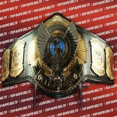 OVW – Ohio Valley Wrestling Heavyweight Title | Top Rope Belts Awa Wrestling, Ohio, Belts, Top, Belt, Crop Tee, Blouses