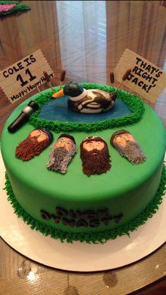 Duck Dynasty cake #3!