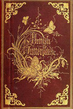 Capa do livro Borboletas Britânicas.