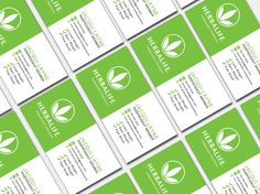 Herbalife business card digital template by wackyjacquisdesigns green and white herbalife business card by wackyjacquisdesigns accmission Image collections
