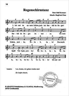regenbogenlied | Wassertropfenweltreise von Siegfried Fietz im Stretta ... Colors For Dark Skin, Spring Nail Colors, Kalimba, Music Education, Sheet Music, Classroom, Songs, School, Sport