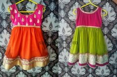 Simple Yet Colorful Frocks   Indian Dresses