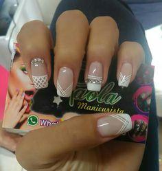 Dot Nail Designs, Nail Polish Designs, Nail Pops, Easter Nails, Nail Decorations, Nail Art Hacks, Beautiful Nail Art, Black Nails, Love Nails