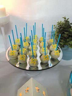 Cake pops pinwheel
