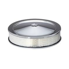 """14"""" chrome open round air #cleaner filter chevrolet ford #hotrod edelbrock #holle,  View more on the LINK: http://www.zeppy.io/product/gb/2/221881435612/"""