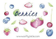 Freebie Friday – Erdbeeren Sticker zum selber ausdrucken