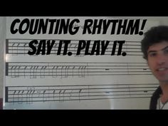 Counting Rhythms: Say & Clap Video 1 - YouTube