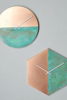 Geometria Wall Clock - anthropologie.com #anthrofave