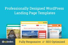 62% OFF !! 10 Professionally Designed #wordpress  Landing Page Themes - #deals   #design   #template