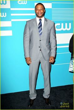 David Ramsey at the CW Network's 2015 Upfront