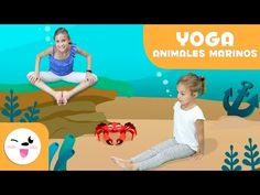 YOGA for Children - Aquatic Animals Yoga Poses - Yoga Practice Tutorial Yoga Poses For Back, Kids Yoga Poses, Yoga Poses For Beginners, Yoga For Kids, Learn Yoga, How To Start Yoga, Practice Yoga, Chico Yoga, Best Yoga Videos