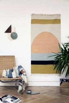 Find the Kelim Rug Collection including traditional and modern carpets mde by ferm Living, available in the home design shop. Small Living Rooms, Living Room Designs, Living Room Decor, Circle Rug, Tapis Design, Style Deco, Contemporary Area Rugs, Geometric Rug, Carpet Design