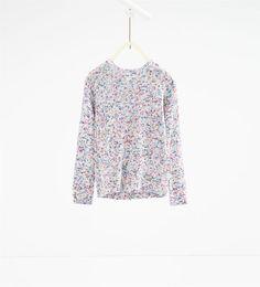 ZARA - KIDS - Multicoloured knit sweater