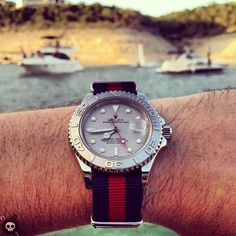 #Rolex watches on the water.