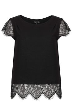 Eyelash Tee- Topshop - £16, so pretty