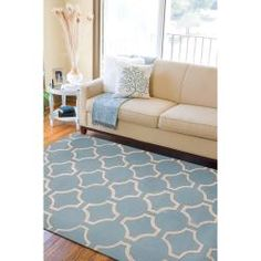 @Overstock - Hand-tufted in New Zealand wool