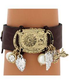 Dreamcatcher charm bracelet from www. cowgirl shine.com