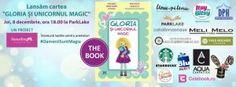 """Lansare de carte """"Gloria si unicornul magic"""""""
