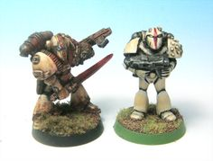 Weathered Rogue Trader Space Marines