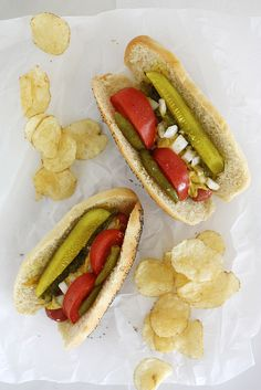 Chicago Style Hot Dog Buns