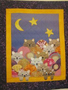 Gatos y quilt