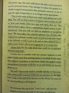 Unfortunately, so true of our American Christian culture. It's time we take truth to our neighbors. David Platt- Radical