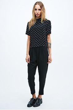 Cooperative Slim Trousers in Black