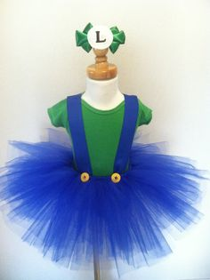 Check out this ORIGINAL Luigi tutu costume by Dream Come Tutu for only $45.95 on my Etsy shop