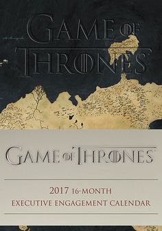 Game of Thrones 2017 Planner - $17 - Christmas Gift Ideas! Game Of Thrones Gifts, Game Of Thrones Fans, Game 7, I Am Game, Game Of Thrones Collectibles, Now Games, 2017 Planner, King In The North, Little Birds