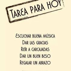 Con esta lista de tareas... ¡DA GUSTO! #Felizmesdejulio #compartir #felicidad…