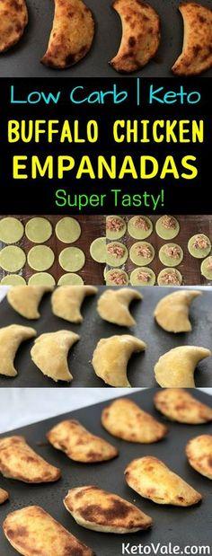 Keto Buffalo Chicken Empanadas Low Carb Recipe
