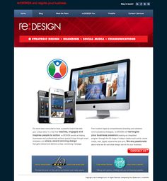 re:DESIGN Website