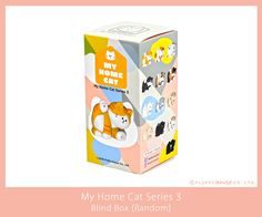 """Cats are such funny furry beings. They always surprise us with mysterious acts! This time, My Home Cats are showing us their """"ADORKABLE"""" - adorable. H & M Home, Designer Toys, Series 3, Clean Up, Just Do It, Stretching, Mysterious, Blinds, Mystery"""