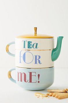 Anthropologie Tea For Me Set