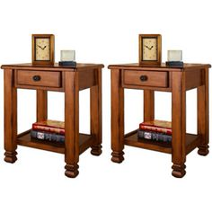 Summit Mountain End Tables by Altra - Value Bundle from Walmart...