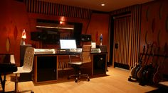 One of my dreams is to one day have a slick looking studio in my home for audio post production and music makin'