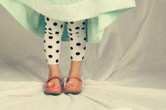 Girls leggings baby leggings black and white polka dot leggings 0-3 months up to 5t on Etsy, $18.00