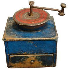 I pinned this Bistro Coffee Grinder from the Estate Sale event at Joss and Main… Antique Coffee Grinder, Coffee Grinders, Retro, Coffee Container, Prim Decor, Shabby, Great Coffee, Le Moulin, Coffee Beans