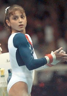 Dominique Moceanu - My favorite gymnast when I was a little girl watching the Olympics.