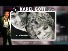 Karel Gott-Přehled největších hitů (1960-1969) Einstein, Music Videos, Album, Songs, Youtube, Song Books, Youtubers, Youtube Movies, Card Book